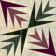 The Palm Free Pattern From Jinny Beyer Studio Quilt