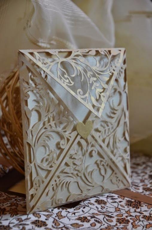 Zaproszenia ślubne Koronkowe Wedding Invitations Pinterest