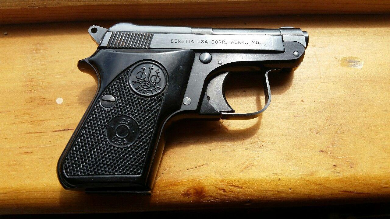 Beretta 950 Jetfire -  25 ACP   Utensils   Guns, Pocket pistol, Hand