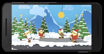 A Google Santa Tracker update from Santa's Elves Santa