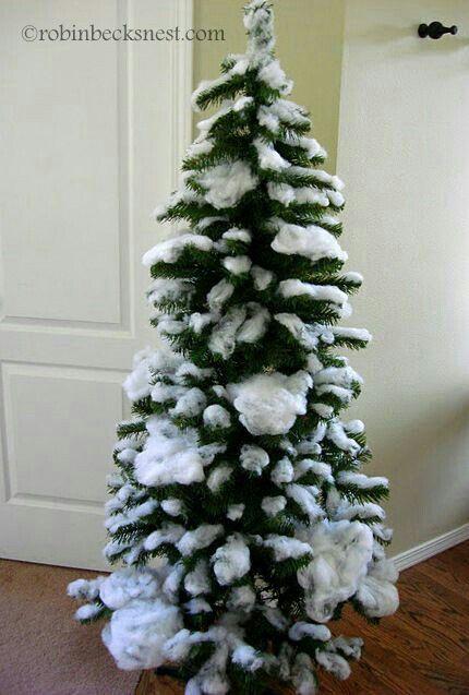 Cotton Snow Fake Christmas Trees Christmas Tree Christmas Decorations