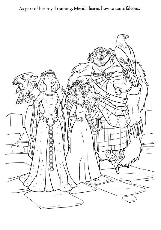 Pin by Laurel on Brave coloring pages | Pinterest | Disney coloring ...