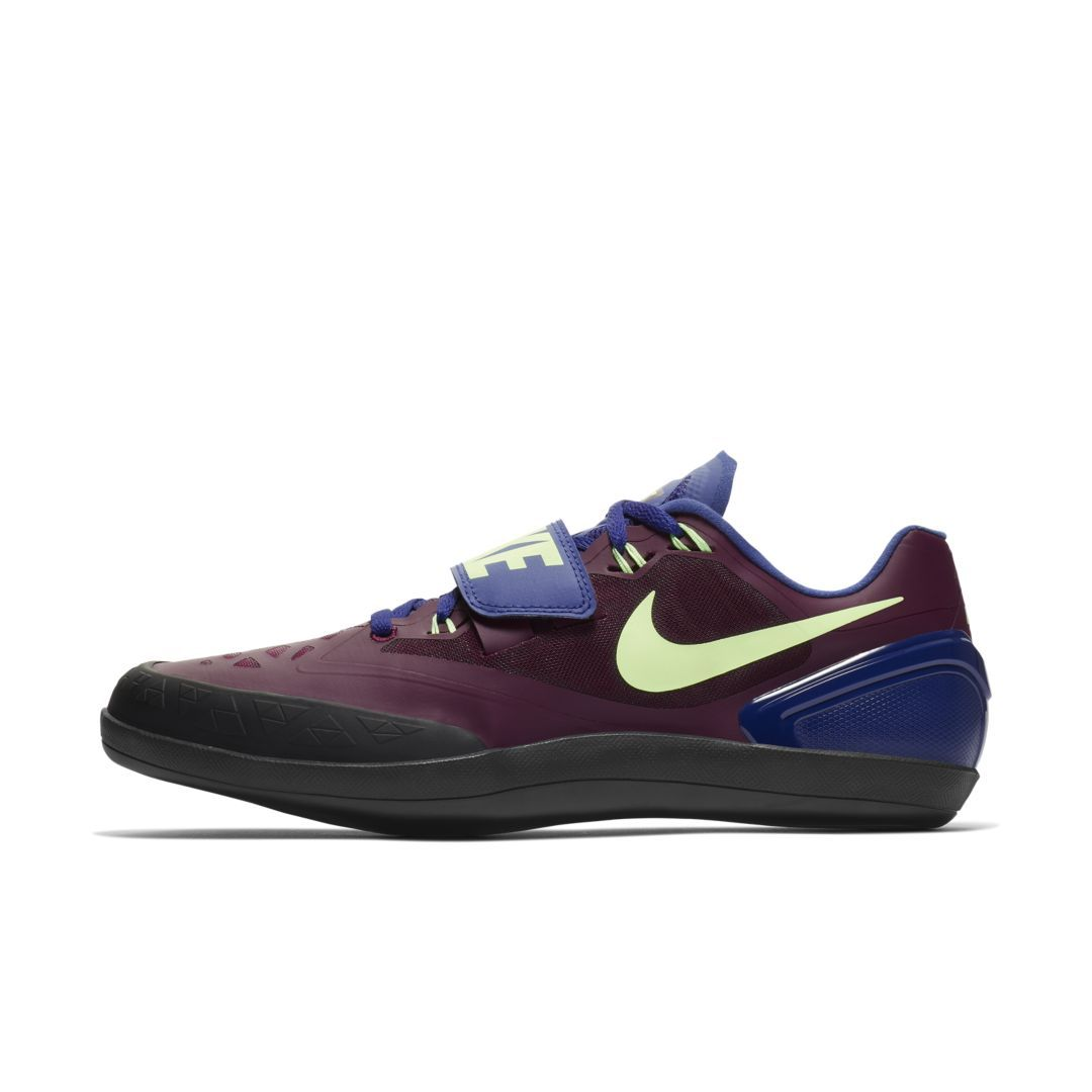 best website ad5e9 c670e Nike Zoom Rotational 6 Unisex Throwing Shoe Size 11 (Bordeaux)