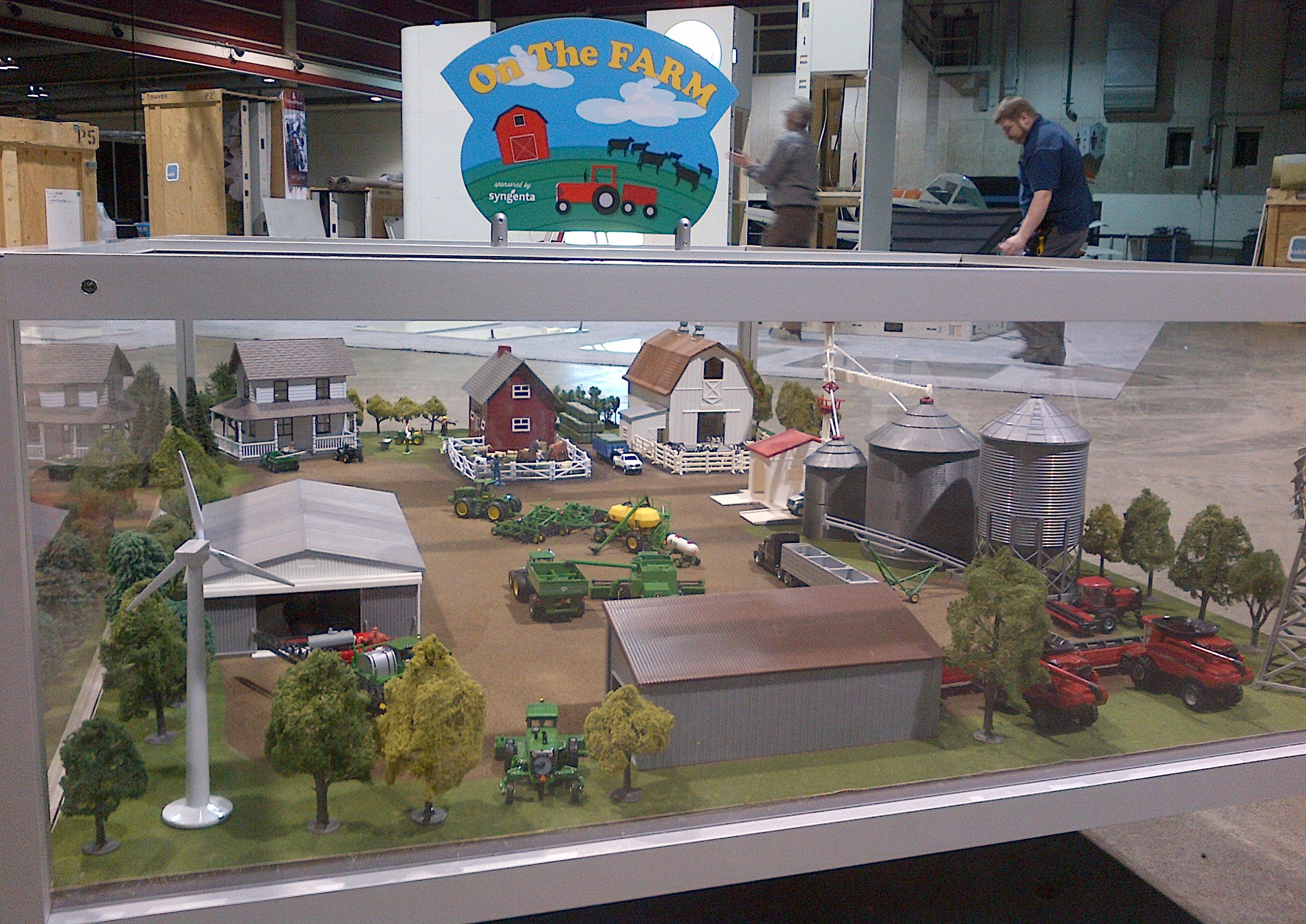 how to make model of farming