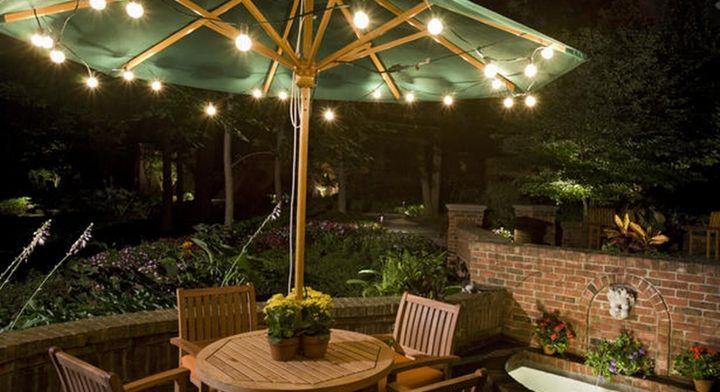Decoracion country para exteriores decoracion 2015 pinterest decoracion terraza - Iluminacion terrazas exteriores ...