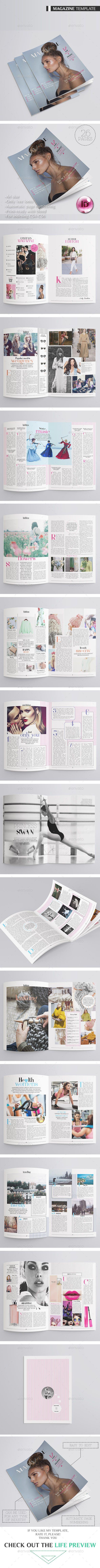 Fashion Magazine 26 Pages