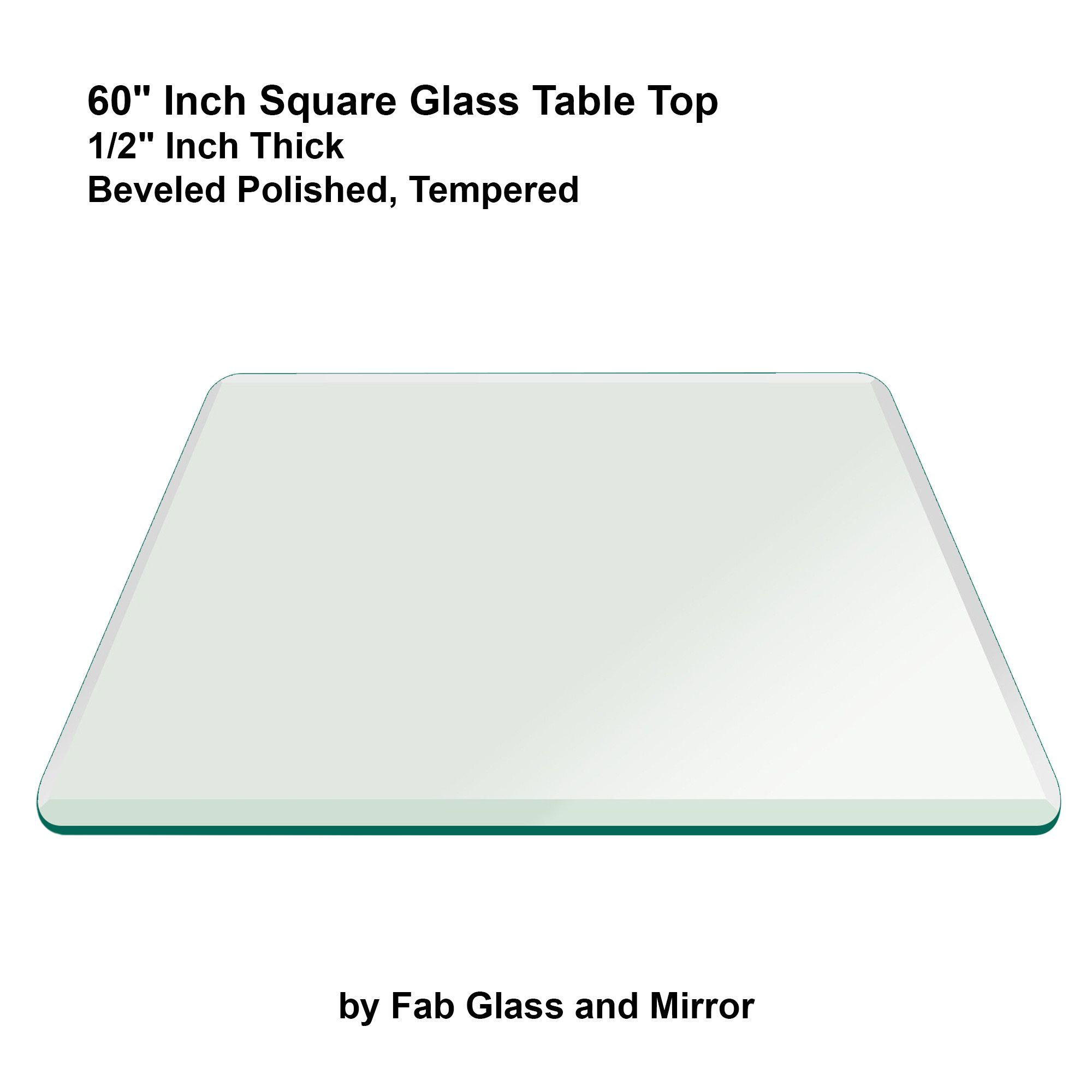 60 Square Glass Table Top Glass Top Table Glass Table Table Top