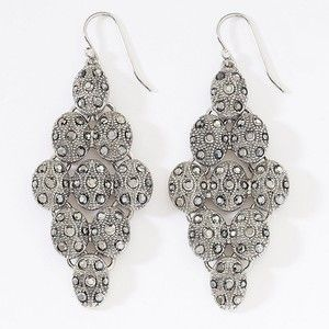 Nice Epic Silver Chandelier Earrings 42 About Remodel Home Designing Inspiration With