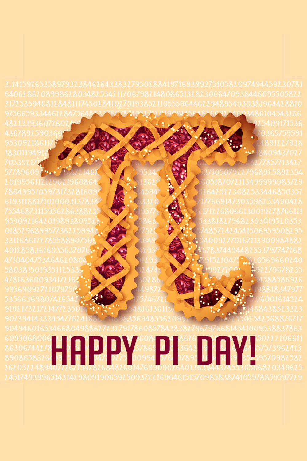 NATIONAL PI DAY March 14, 2020 Happy pi day, Pi day, Day