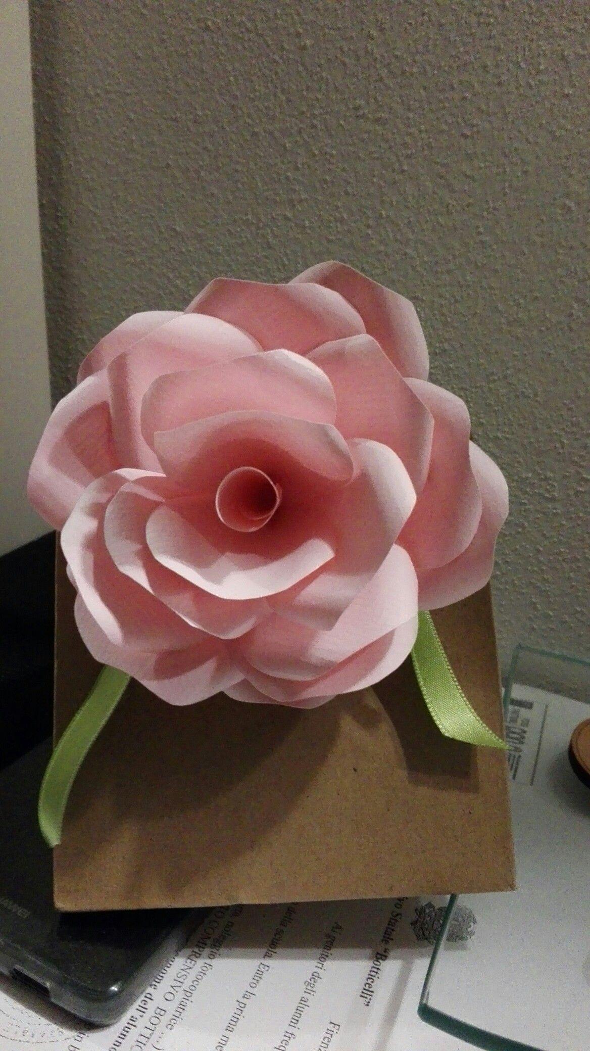 Paper flower - rosa di carta