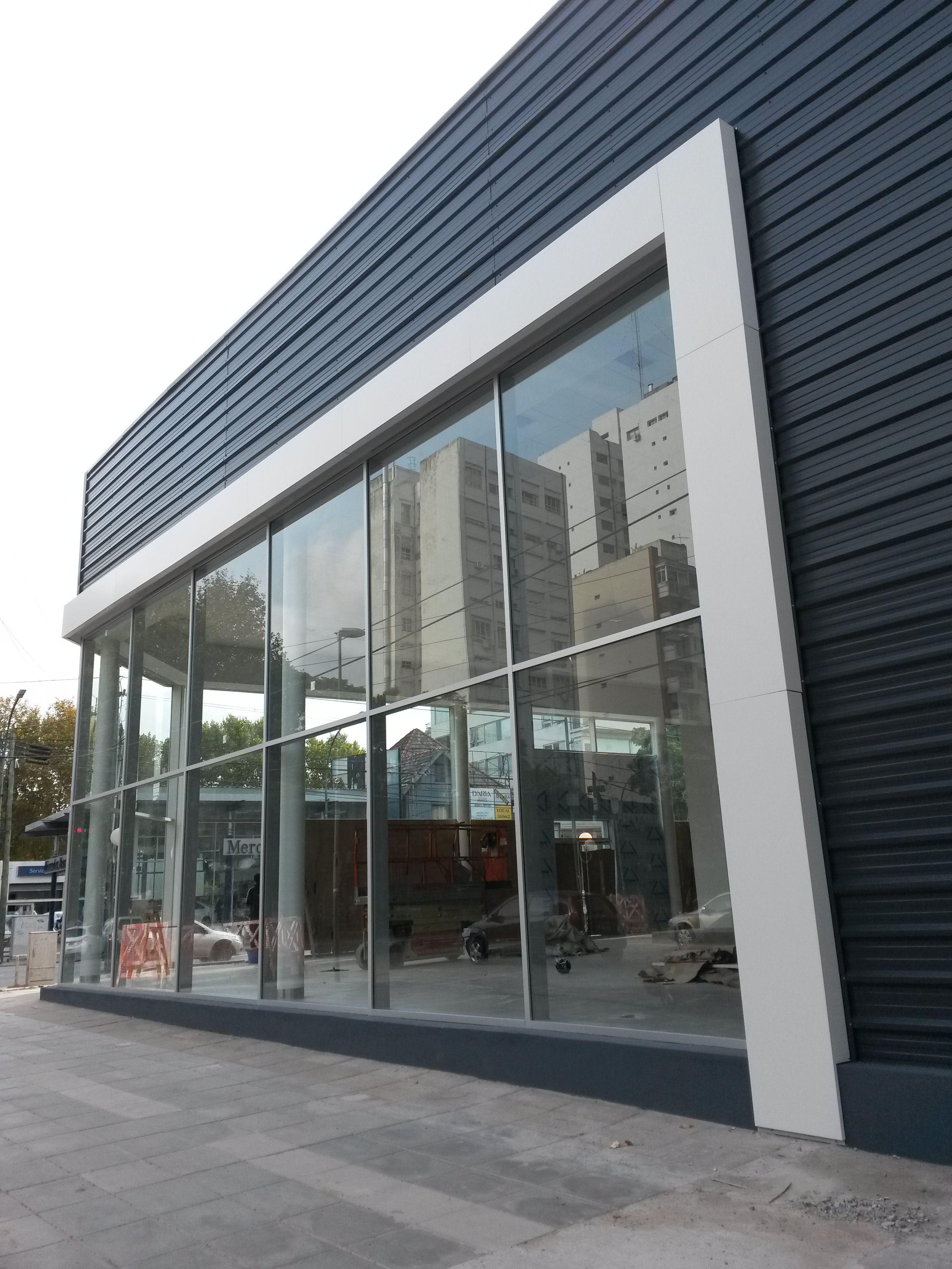 Arquitectura Soluciones Integrales Fachadas Comerciais Arquitetura Fachadas