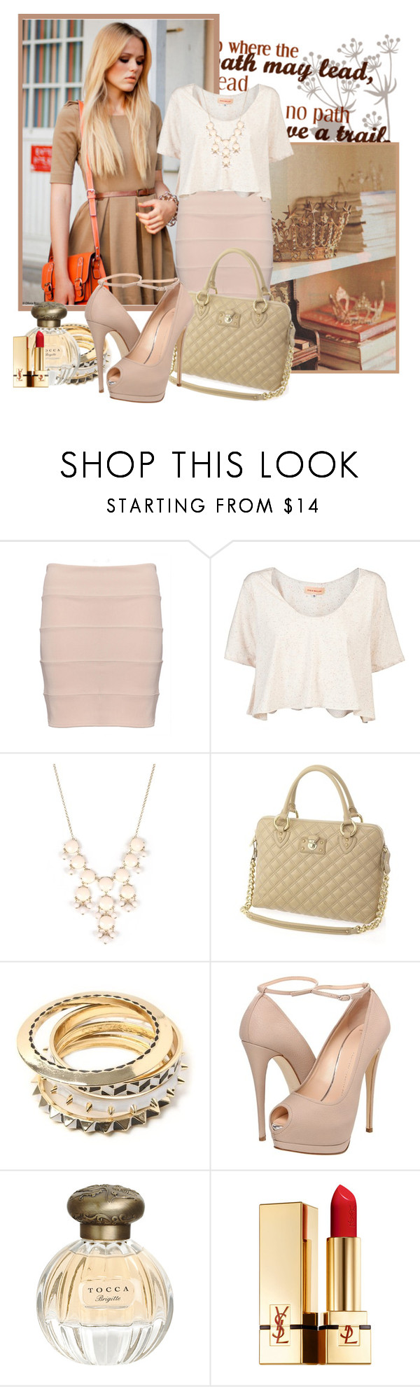 """""""10."""" by medinaa ❤ liked on Polyvore featuring Fabi, Otis & Maclain, Marc Jacobs, Giuseppe Zanotti, Tocca and Yves Saint Laurent"""