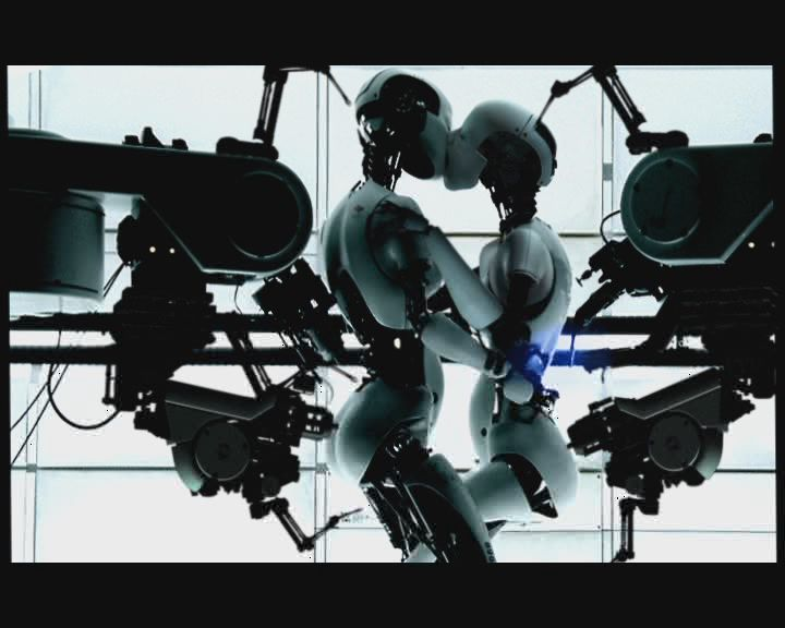 Bjork All Is Full Of Love New Media Art Robot Mechanics