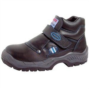 Calzado y Botas de Seguridad: Bota Panter Fragua Plus Velcro S3.  Antideslizante PU+