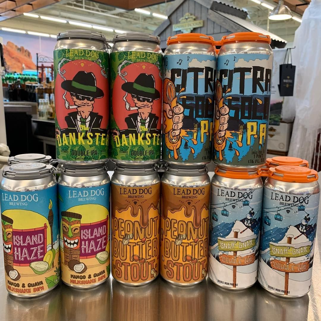 Which Beer Do You Want To Try Lead Dog Brewery Is Available