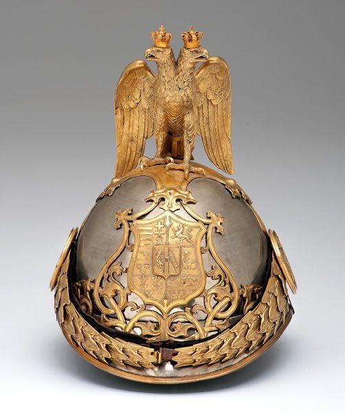 Austrian Ersten Arcieren Leibgarde M1889 Bronze Helmet with Eagle