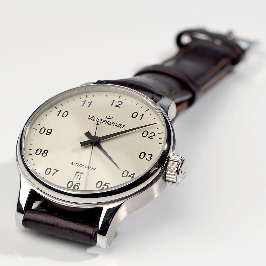 Armbanduhr MeisterSinger Scrypto bei Torquato.de