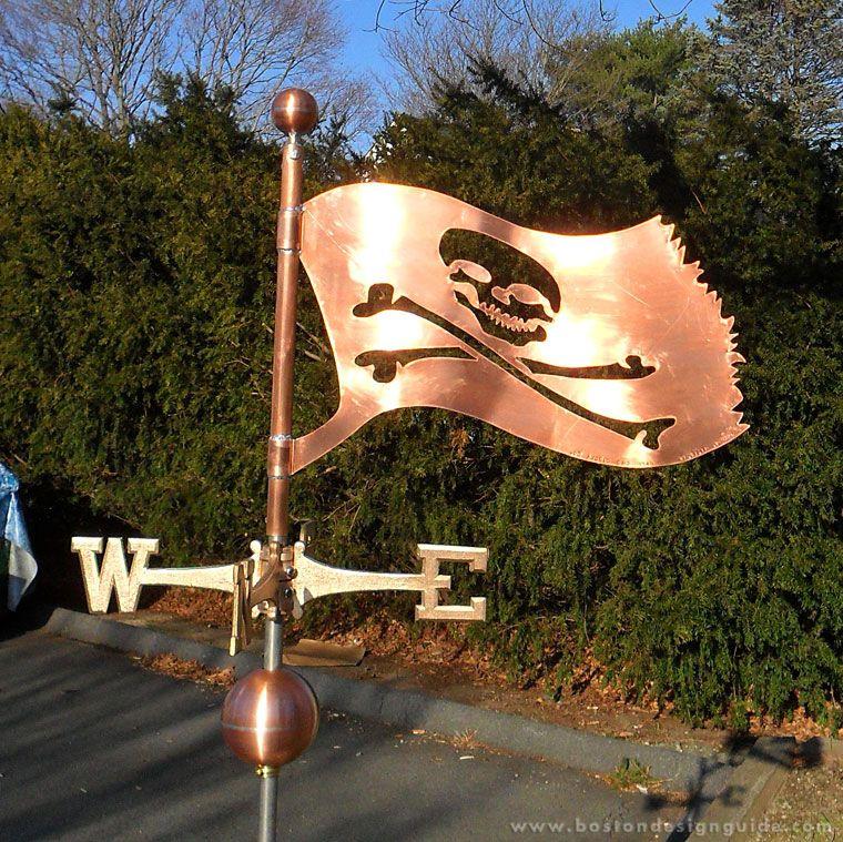 Skull Crossbones Weathervane Weathervanes Cupolas Cape Cod