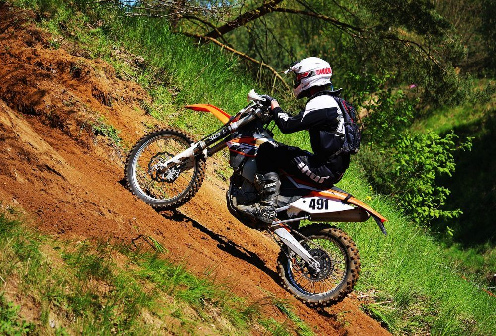 Dirtbike and offroad superstore motocross motorcycle