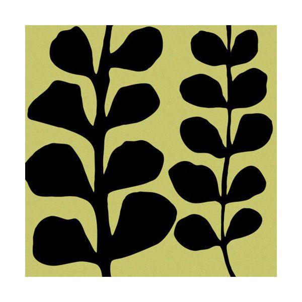Black Fern on Green, Denise Duplock Prints from Easyart.com ($24 ...