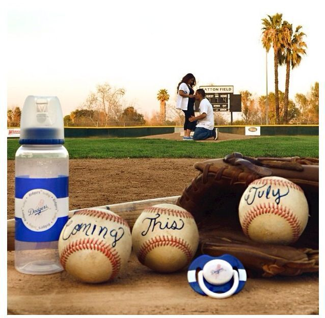 Baseball baby announcement Our Baby Boy Pinterest – Colorado Springs Birth Announcements