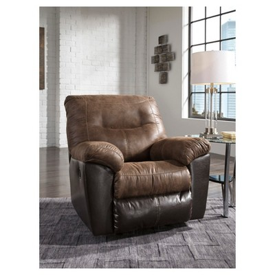 Accent Chairs Ashley Coffee Brown Ashley Furniture Living Room