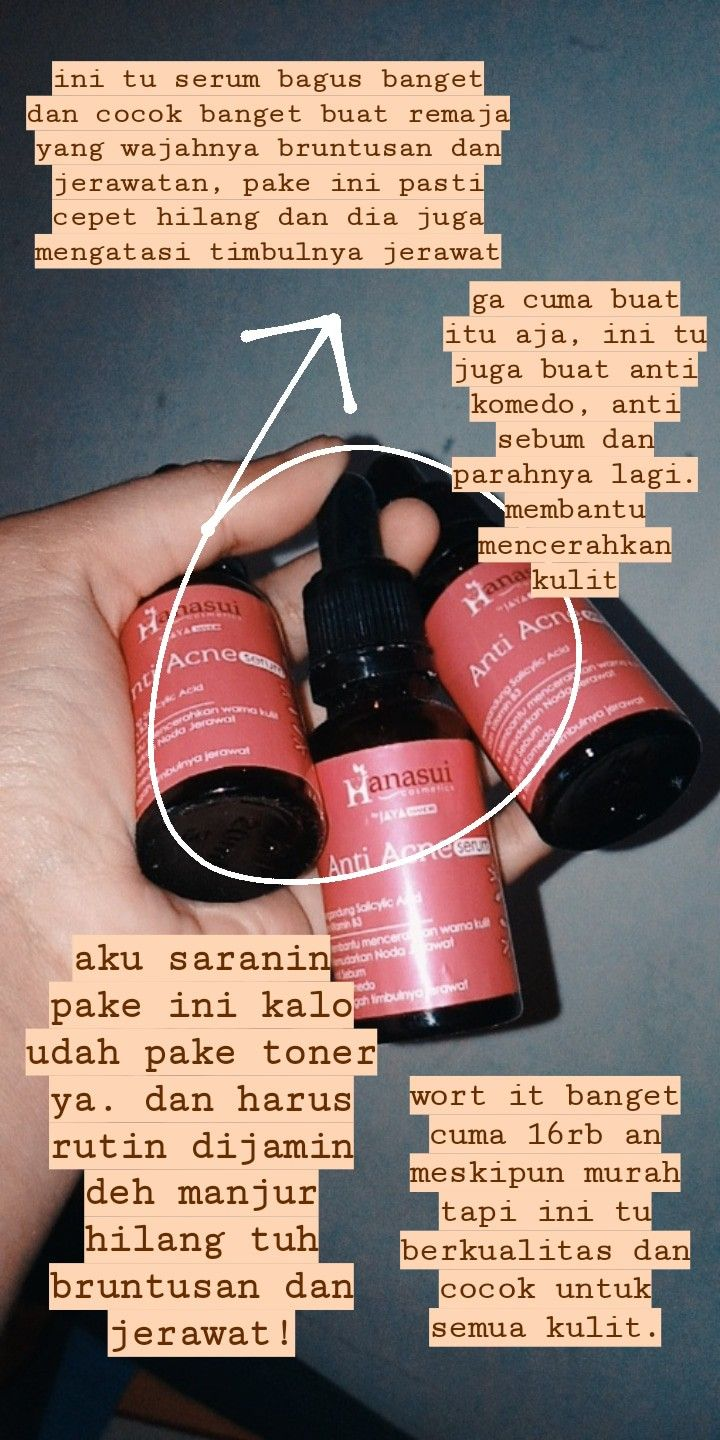 Review Hanasui Serum : review, hanasui, serum, Skincare, Product, Review, Produk, Jerawat,, Perawatan, Kulit,, Kulit, Alami