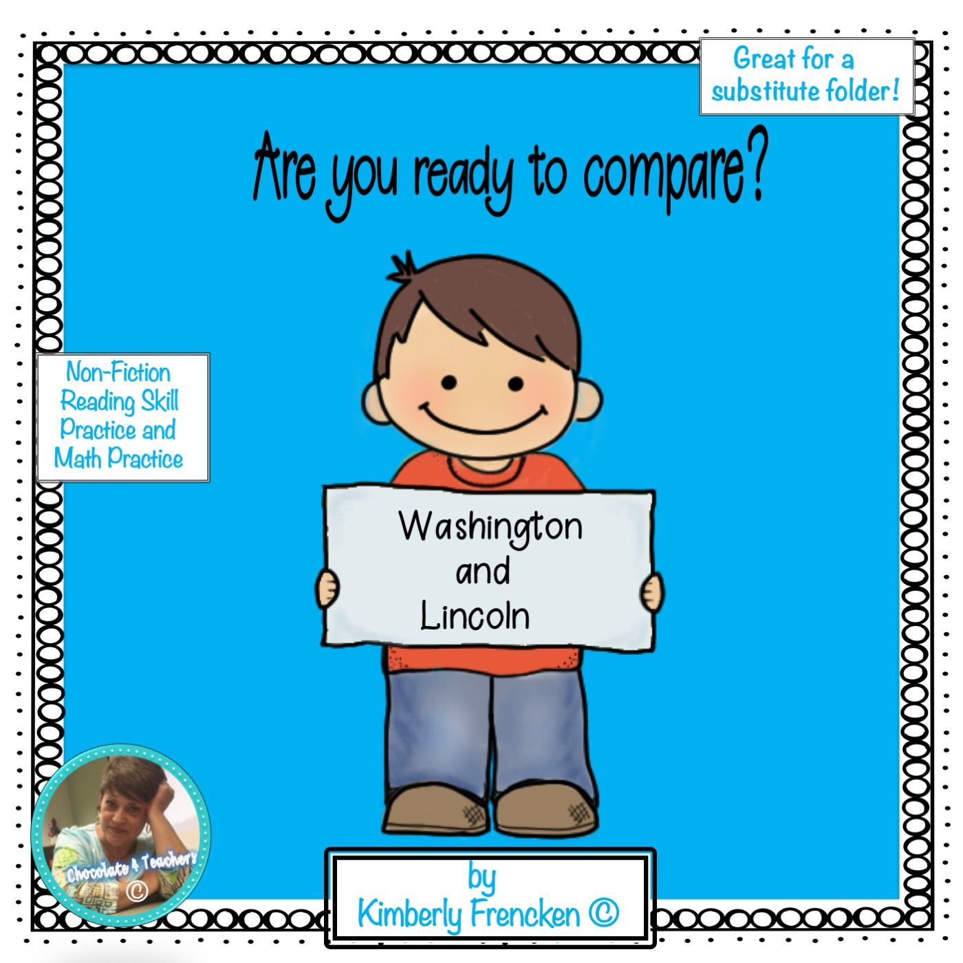 Washington Vs Lincoln Non Fiction Reading Passages And