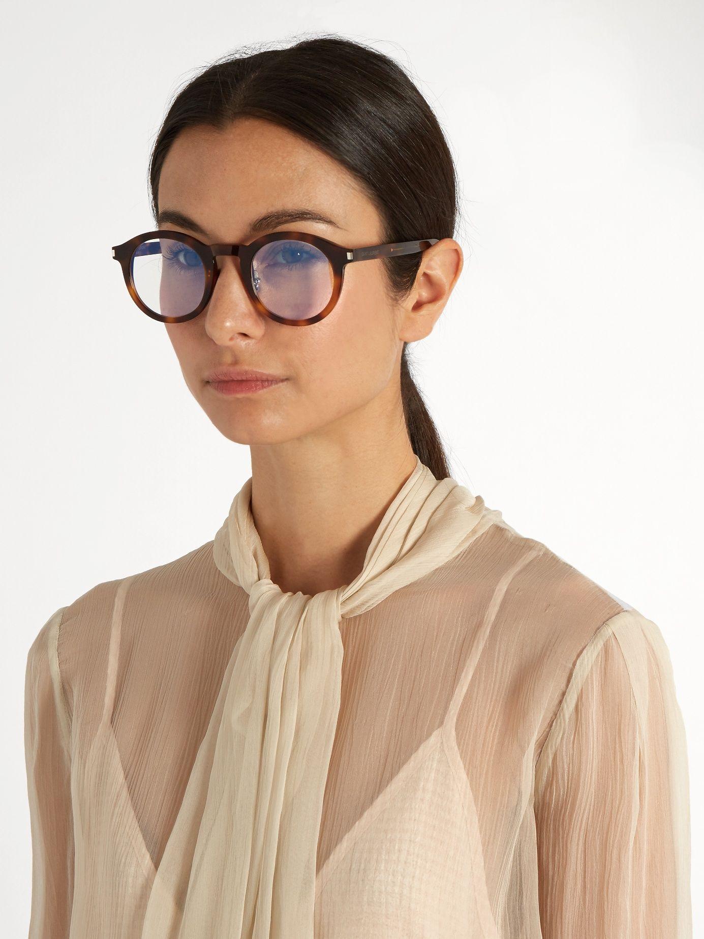 round frame sunglasses Saint Laurent Eyewear CSBzU5