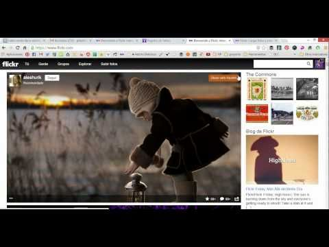 ▶ Tutorial de Flickr - YouTube