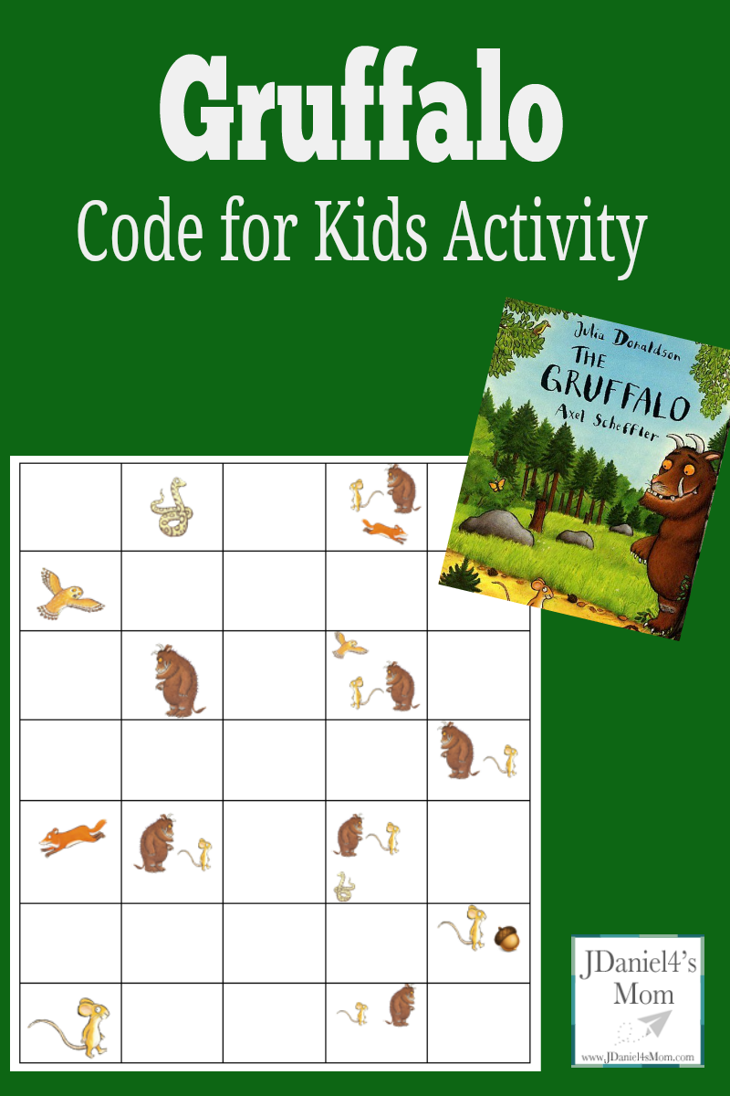 Code For Kids Activity Gruffalo Coding And Retelling Printable Coding For Kids Unplugged Coding Activities Kindergarten Coding [ 1200 x 800 Pixel ]