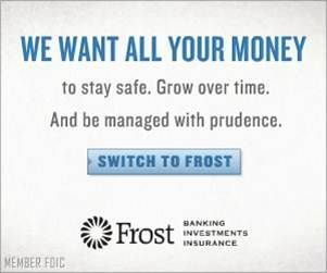 """Frost """"Switch"""" campaign banner."""