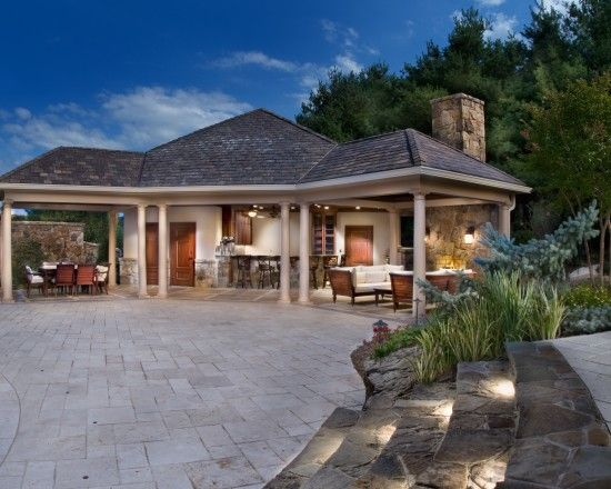 Pool Houses Design, Pictures, Remodel, Decor and Ideas   patio/pool ...