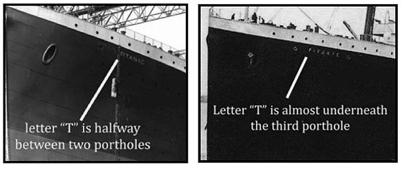 Rms Olympic And Titanic Switch These Above Images Are