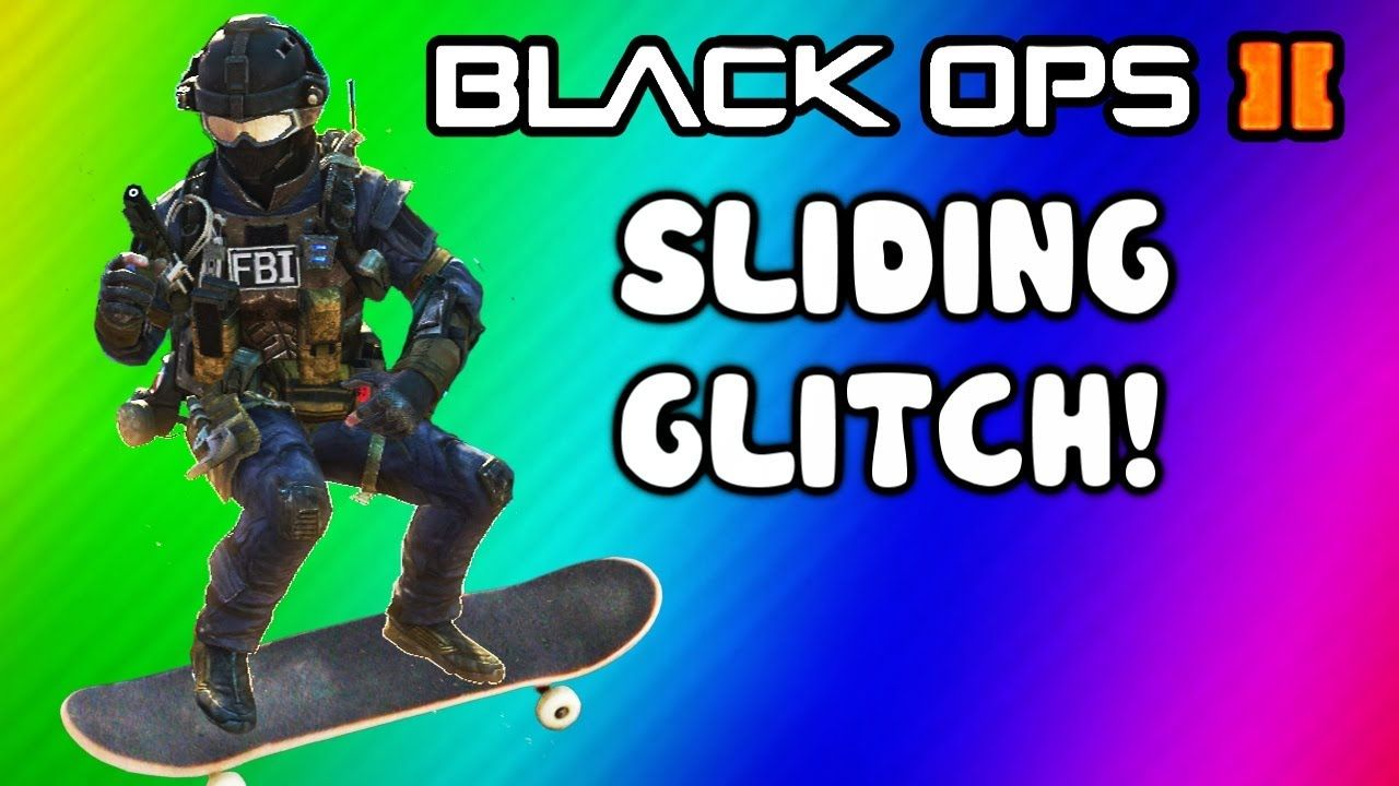 Black Ops 2 Sliding Glitch + Tutorial (Funny Moments, Trolling, Killcams...