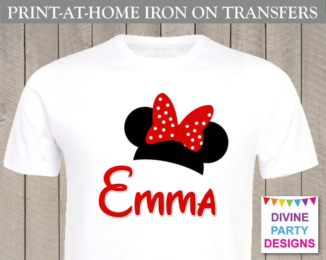 Make Your Own Affordable T Shirt With The Printable Personalized