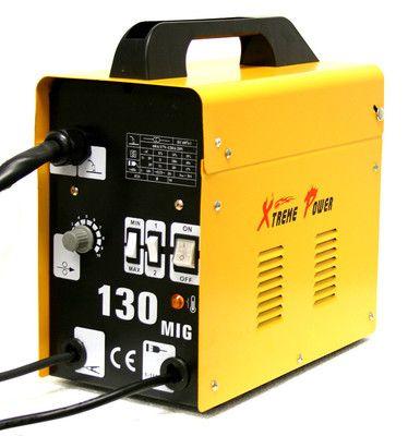 X5019 MIG 130 Flux Core Wire Welder Welding Machine w