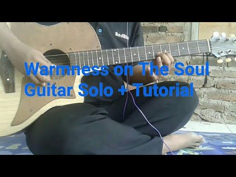 Warmness On The Soul Avenged Sevenfold Guitar Solo Tutorial