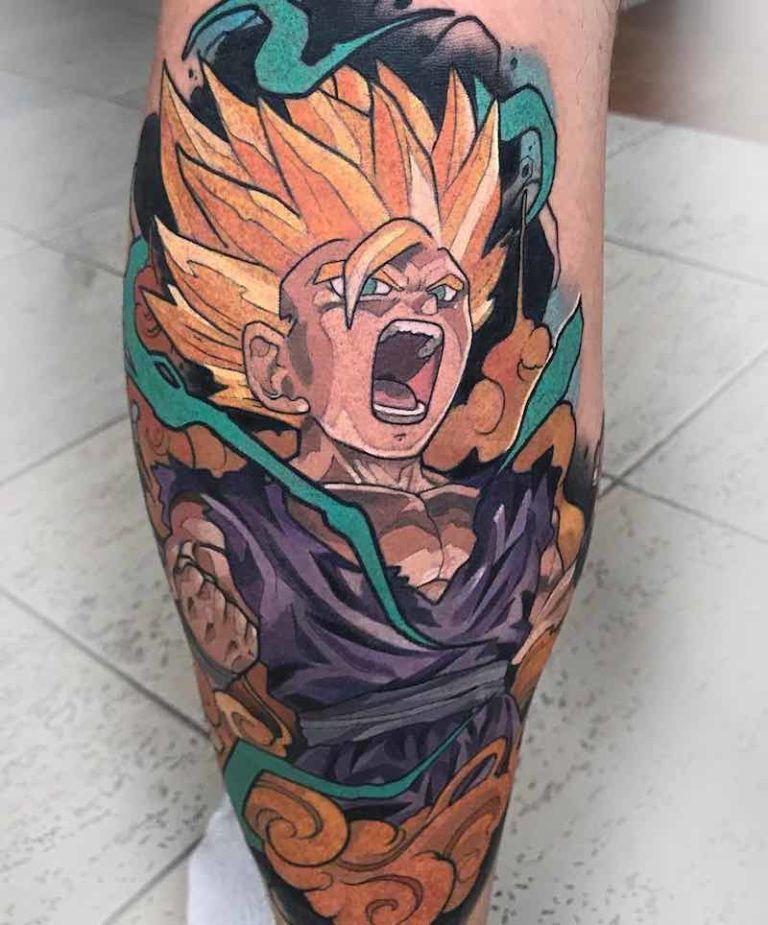 The Very Best Dragon Ball Z Tattoos Dragon Ball