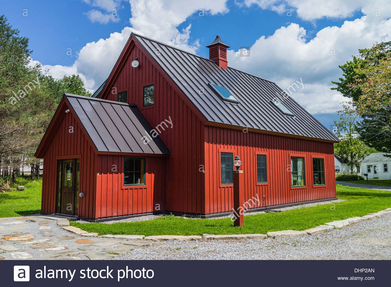 Best Download This Stock Image A Red Wooden Board And Batten 400 x 300