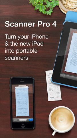 Scanner Pro transforms your iPhone and iPad into portable scanners. It allows you to scan receipts, whiteboards, paper notes, or any multipage document. Scanned documents can be emailed and printed, uploaded to Dropbox, Google Drive and Evernote, or simply saved on the iPhone/iPad.