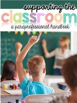 Special Ed Teacher Resume Paraprofessional Handbook Editable  Pinterest  Classroom .