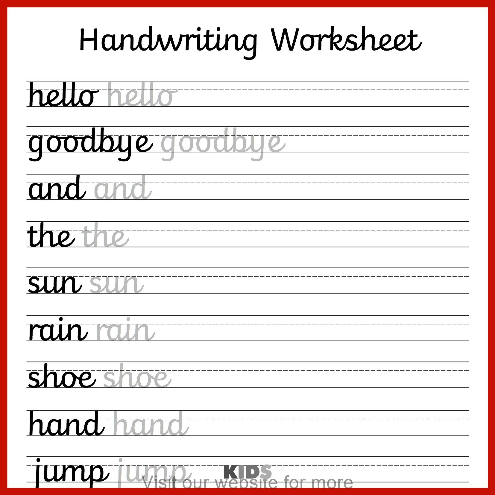 Homeschool Worksheet 3rd Grade In