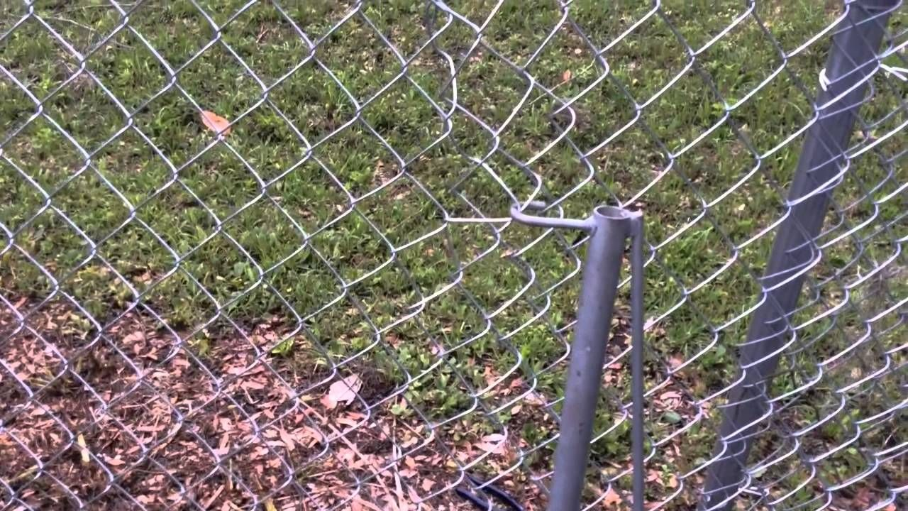How To Patch And Repair A Chain Link Fence Diy Chain Link Fence