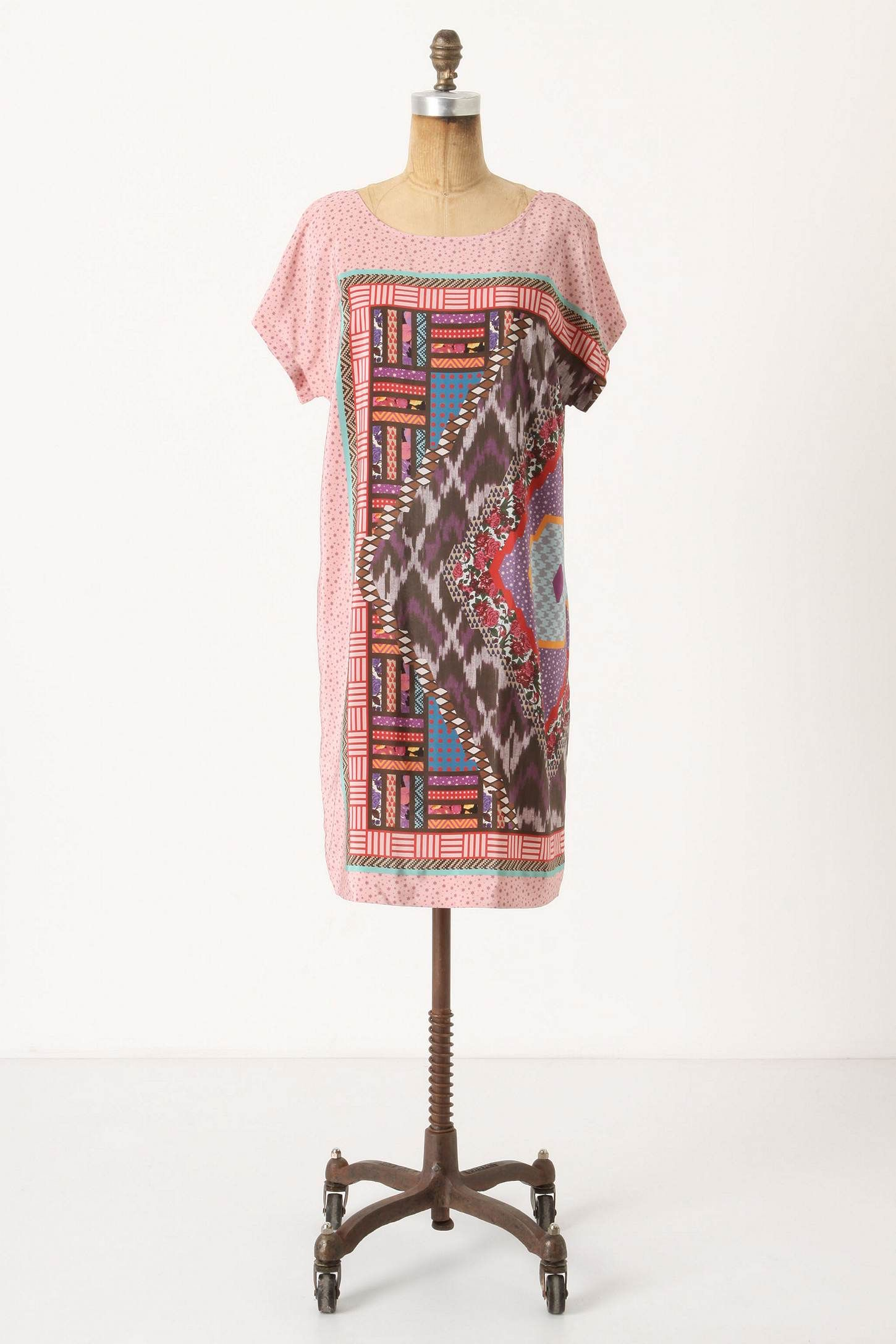 Rubied lace dress ikat anthropologie and ethnic