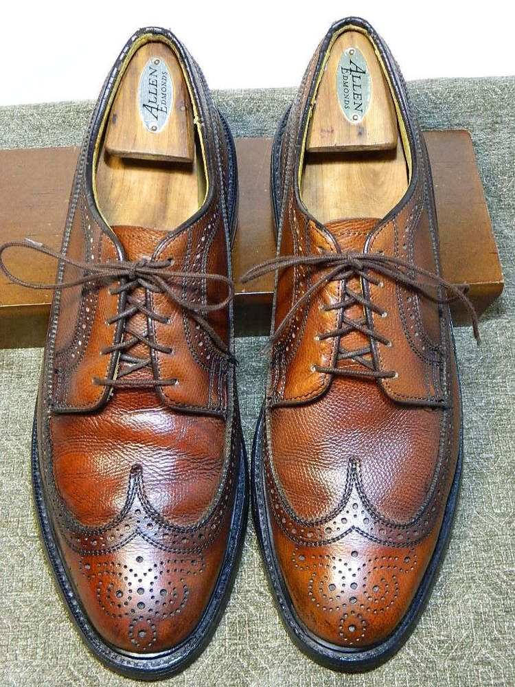 1c4a438b7a8b Vintage Dexter Men s Brown Leather Wingtip Oxfords Shoes Sz 12D MADE IN  USA!  Dexter  WingTip  Formal