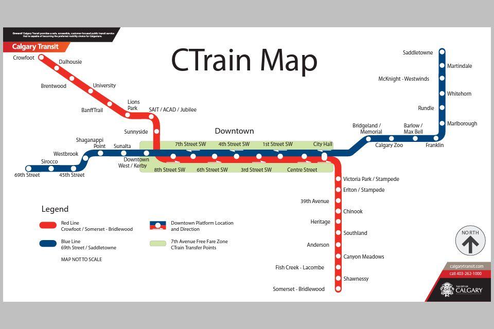 Calgary's Light Rail Transit Line (C-Train for short) - The Official on