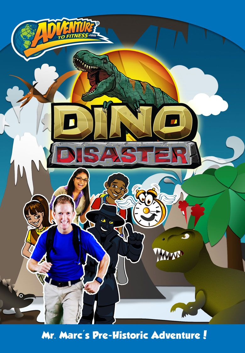Dino disaster adventure to fitness active learning