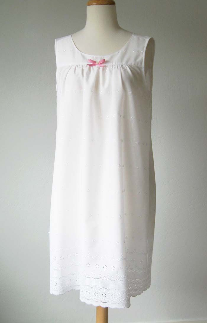 Nightgown Pattern to Sew — FREE Tutorial | Pinterest | Simple ...