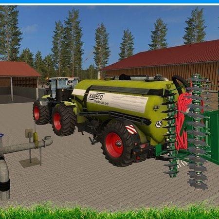 Slurry Tanker Fs17 Farming Simulator Simulation Instagram Posts